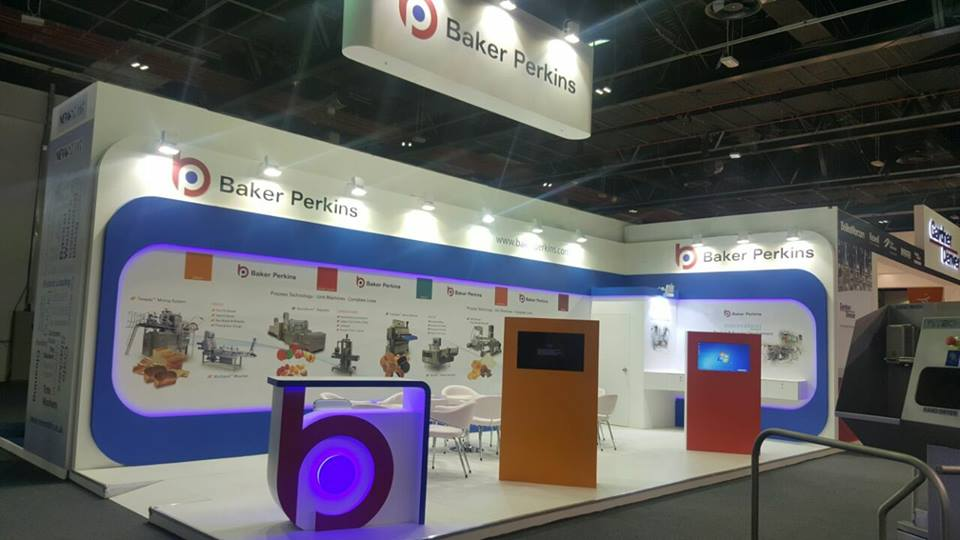 Baker Perkins- UK. GULFOOD Manufacturing Exhibition-Dubai