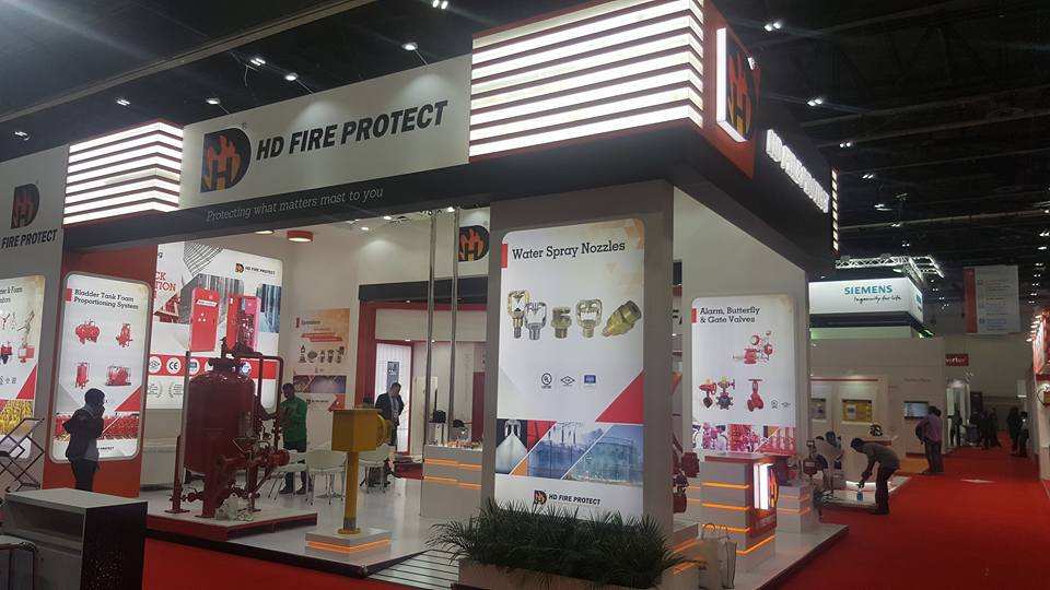 INTERSEC Exhibition-2018, HD Fire, India