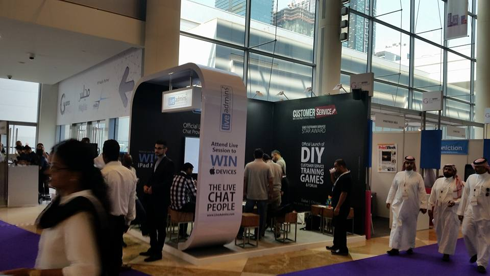 Live Admin -Gitex Exhibition,Dubai-2015