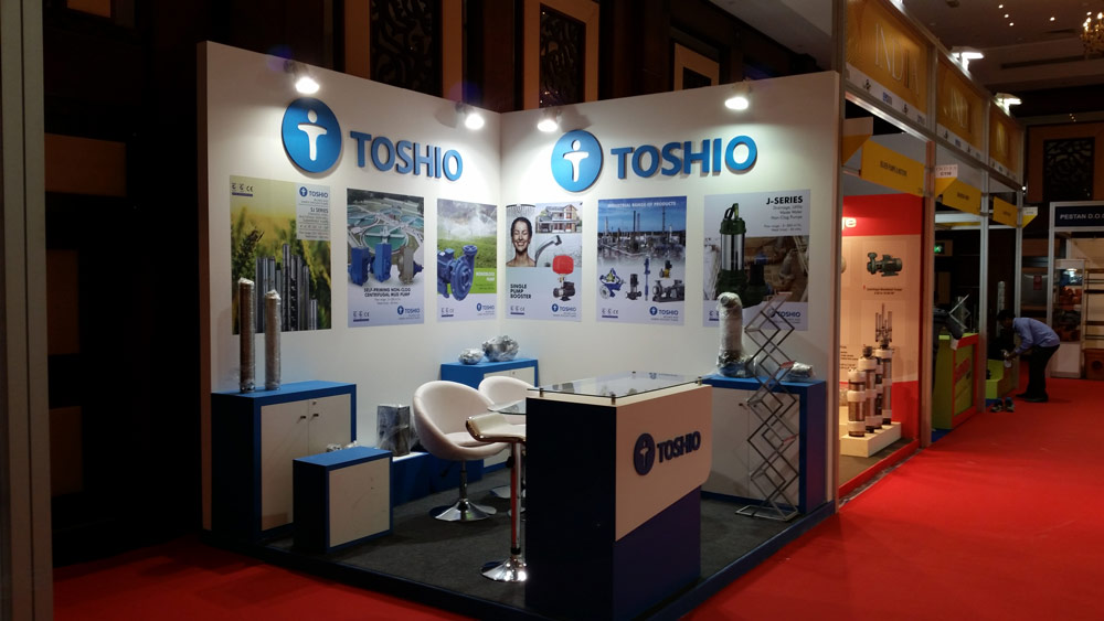 Big 5-2014,Dubai. TOSHIO PUMPS, India