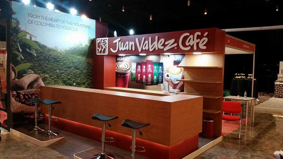 International Tea & Coffee Exhibition_JUAN Columbia
